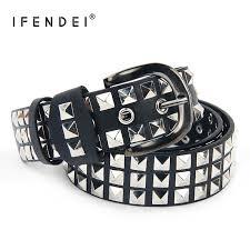 <b>IFENDEI</b> Luxury <b>Designer</b> Punk <b>Belts</b> For Women <b>Men</b> Fashion ...