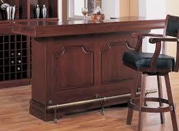 cherry wood home bar with wine rack bar furniture sets home