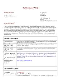 sample resume of chef de partie resume templates sample resume of chef de partie chef de partie resume sample latest resume sample chef resume