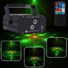 Online Shop 48 Patterns Laser Projector Christmas Disco Light ...
