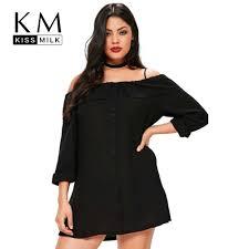 Detail Feedback Questions about <b>Kissmilk Women Plus</b> size Black ...