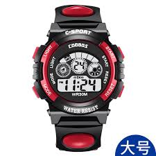 Explosion models cool treasures children's watches multi-function ...