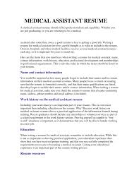 medical assistant resume medical assistant cover letter otsbnuoc medical assistant resume medical assistant cover letter otsbnuoc