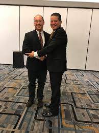 veith symposium a great success western institute outgoing isvs president professor alan dardik meets incoming isvs president professor sherif sultan at this years