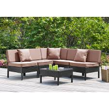 collection green outdoor lighting pictures patiofurn home. sweet wicker patio furniture with presenting light brown leather appealing outdoor uphold steered lounge sofa rattan home collection green lighting pictures patiofurn