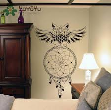 <b>OWL Dream Catcher Wall</b> Decor – Spirit Animal Store