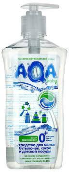 <b>AQA baby Средство для</b> мытья бутылочек, сосок и детской ...