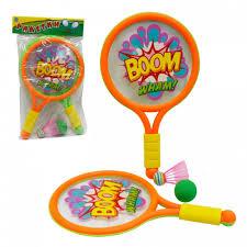 <b>1 Toy</b> Набор для игры в теннис и <b>бадминтон</b> Boom! Wham ...