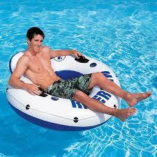 Круг - лодка <b>надувной</b> с ручкой <b>Intex</b> – купить в Перми, цена 1 650 ...