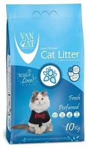 Комкующийся <b>наполнитель Van Cat Fresh</b> 10 кг — купить по ...