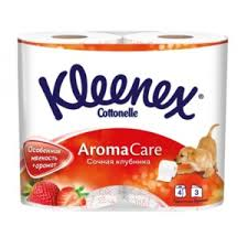 <b>Туалетная бумага Kleenex</b> Aromа Care трехслойная   Отзывы ...