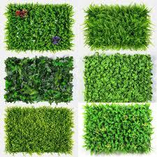 2019 <b>Xuanxiaotong 60*40cm</b> Artificial <b>Green</b> Plants Wall Lawns ...