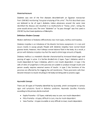 paper on diabetes panchgavya solution for diabetes cowcure