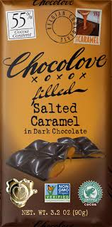 <b>Salted Caramel</b> in Dark <b>Chocolate</b> - Chocolove - Premium <b>Chocolate</b>