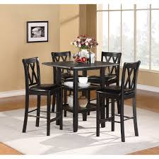 cherry counter height piece: norman  piece counter height dining set