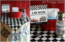 cars birthday party printables cars birthday party printables car wash station allthingsgd