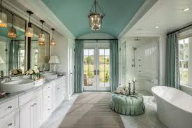 nice accents wall color scheme of luxury master bathroom design displaying modern white painted wooden double bathroom vanity cabinet under cool pendant awesome bathroom lighting bathroom pendant lighting vanity