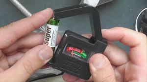 <b>Тестер уровня заряда</b> для Ni-Mh батареек АА и ААА - YouTube