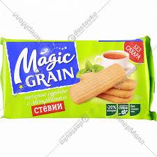 """Печенье сдобное """"<b>Magic Grain</b>"""" с экстрактом стевии, 150 г ..."""
