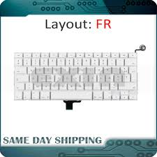 New Laptop A1342 FR <b>France French Keyboard for</b> Apple Macbook ...