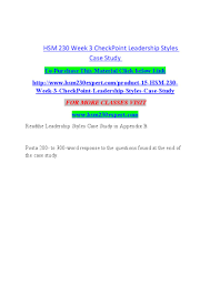 case study leadership styles questions 91 121 113 106 case study leadership styles questions