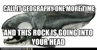 geology major meme. it is really the worst insult to a geologist ... via Relatably.com