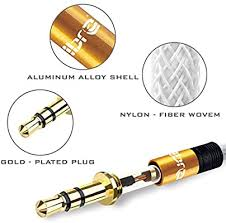 <b>Aux Cable 1M 3.5mm Stereo</b> Premium <b>Auxiliary Audio Cable</b> ...