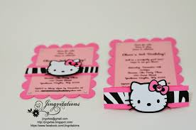 jingvitations hello kitty birthday party invitations hello kitty zebra leopard invitations