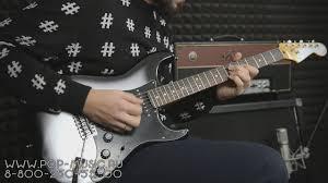 электрогитара fender player stratocaster pf black