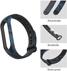 4Pcs Smart <b>Bracelet for Xiaomi</b> 4 Camouflage Watch with Adjustable ...