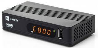 <b>Ресивер цифровой телевизионный</b> DVB-T2 <b>Harper</b> HDT2-1514 ...