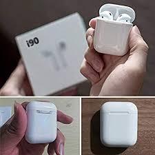 Crae9kd i190 TWS Bluetooth Headphones 1:1 w1 ... - Amazon.com