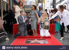 los angeles ca usa 28th 2016 yolanda adams leron gubler yolanda adams leron gubler shirley caesar kirk franklin fariba kalantari at the induction ceremony for star on the hollywood walk of fame for shirley