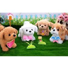 <b>Cute Walking</b> Pet <b>Barking</b> Dog Electric <b>Toy</b> Soft Gift Plush Dog For ...