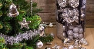 <b>Набор</b> игрушек на елку Серебряный Стиль, 100 предметов ...