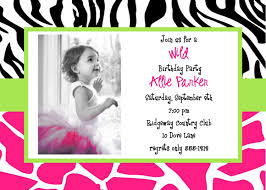 How To Choose The Best One Free Printable Birthday Invitation ... Free Printable Zebra Print Birthday Invitation Templates