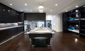 elegant home of the month rec room reinvented billiard room lighting