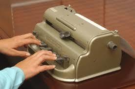 máquina braille