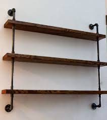rustic wall rack kitchen decor  ideas about industrial shelving on pinterest pipe shelves industrial