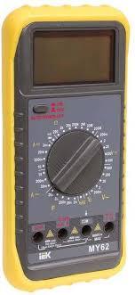 <b>Мультиметр цифровой IEK</b> Professional MY62I — купить в ...