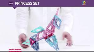 Видеообзор набора <b>Magformers Princess</b> Set - YouTube