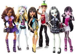<b>Куклы Monster High</b>: классификация по размеру и другим ...