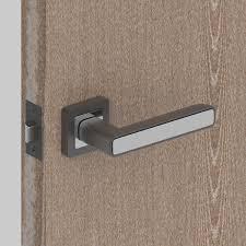 Ручка дверная на розетке <b>MARS</b> QR/HD GR/CP-23, цвет графит ...