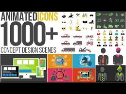 animated icons 1000 after effects template project files videohive download now basic icons flat icons 1000