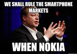 WE shall rule the smartphone markets when nokia - Stephen Elop ... via Relatably.com