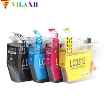 vilaxh for brother lc3511 lc3513 ink cartridge compatible dcpj572dw mfcj491dw mfcj690dw mfcj890dw printer