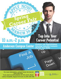 career center central texas college career fair flyer