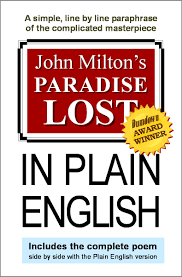 paradise lost in plain english paradise lost in plain english