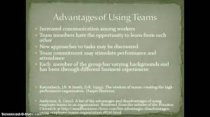 advantages and disadvantages of teams mcdonald s advantages and disadvantages of teams mcdonald s