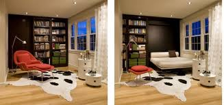 living room with bed: view in gallery forma design living room murphy bed